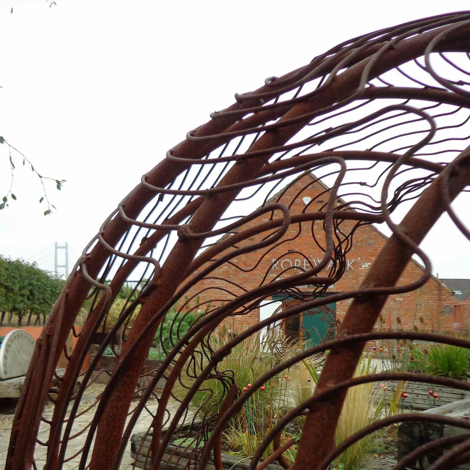 Ropewalk+from+sculpture+garden