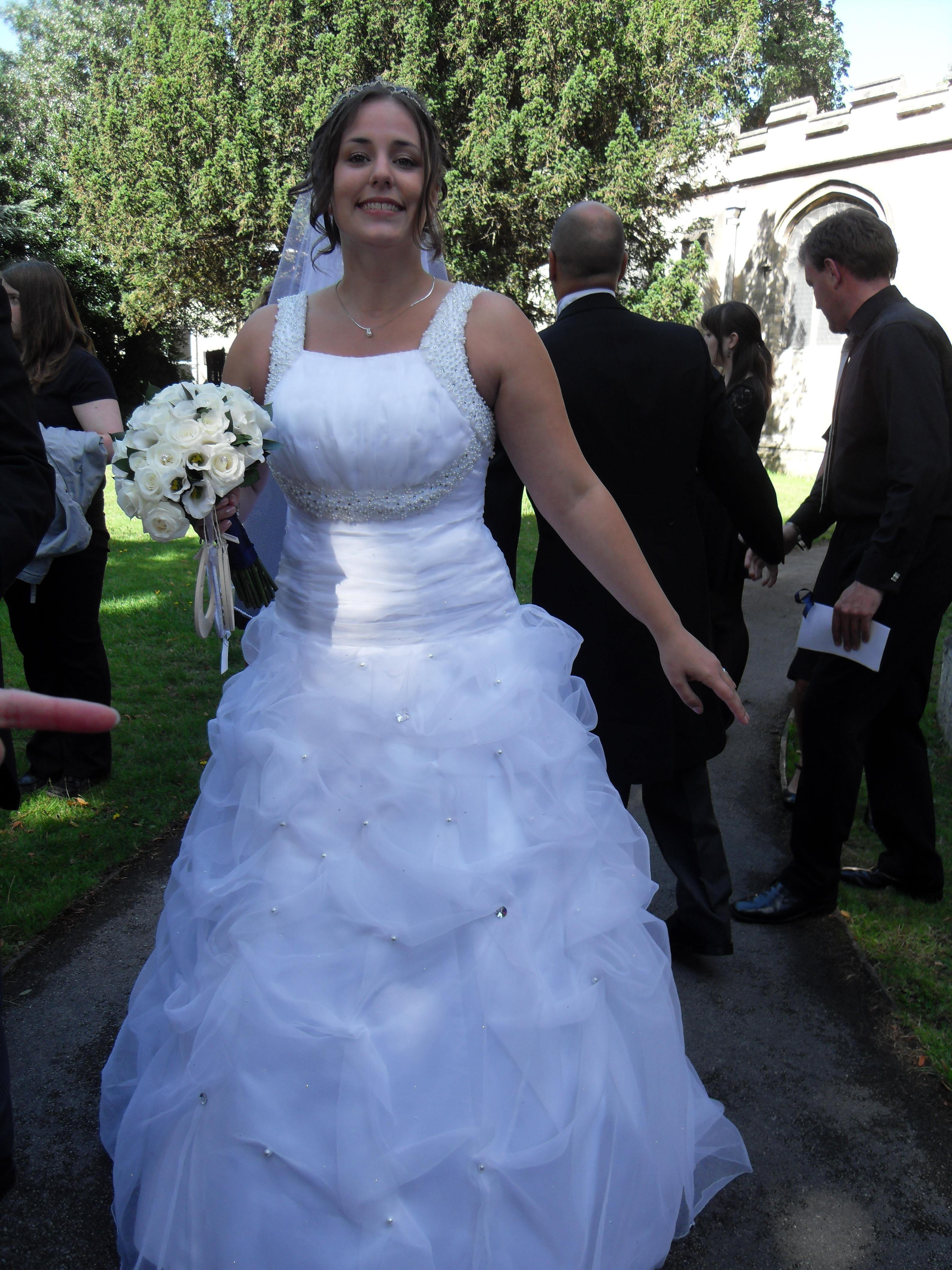 Bespoke wedding gown