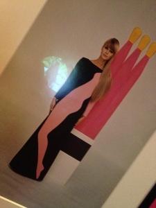 Pop art dress Yves Saint Laurent Style is Eternal The Bowes Museum