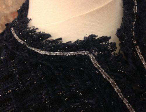 Chanel jacket fringe