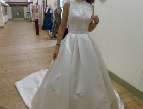 Hannah's wedding dress