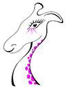 Pink Giraffe - Nicky Merrick