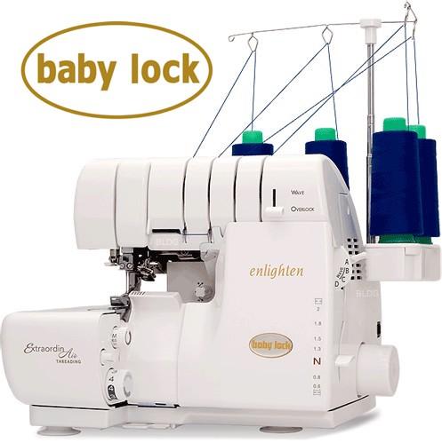 Baby lock enlighten overlocker - sewing with jersey fabric