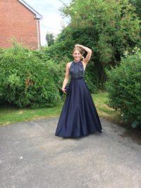 Katy Inch prom dress