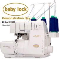 Baby lock demonstration day
