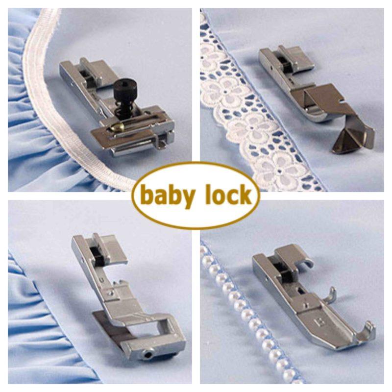 baby lock overlocker specialist feet