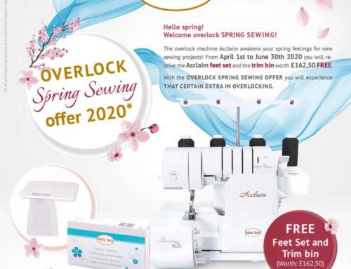 baby lock Acclaim overlocker special offer!